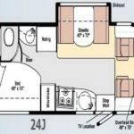 Ideas Motor Home Travel Trailer Floor Plans