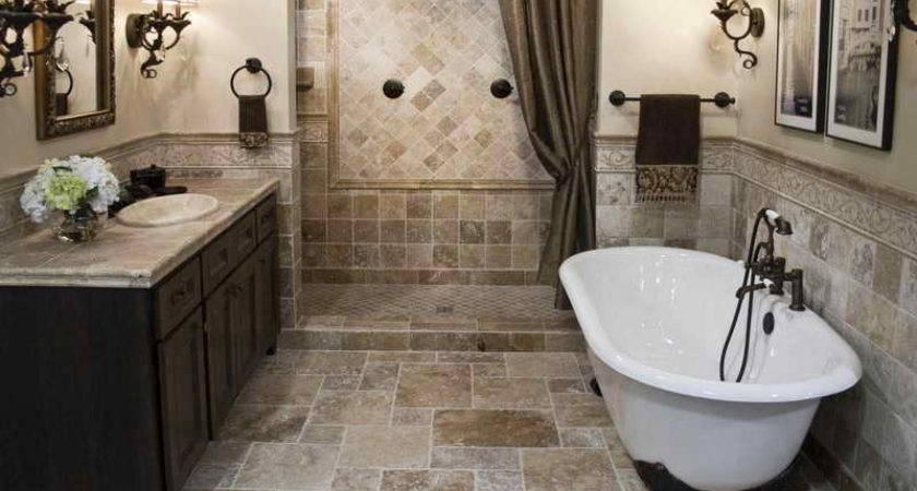 Ideas Rustic Walk Shower Bathroom