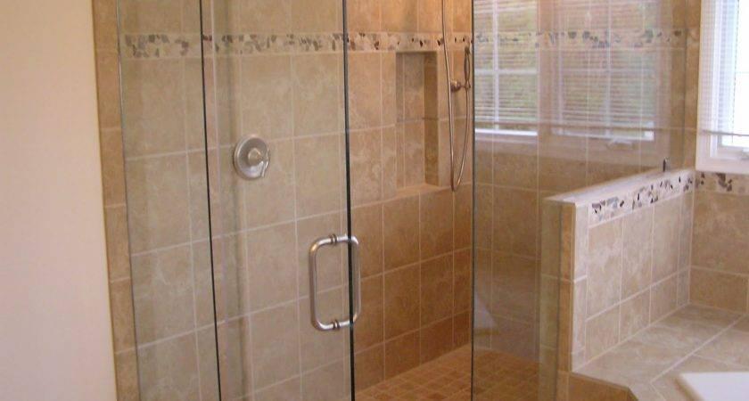 Ideas Tile Bathroom Shower Home Trend Decobizz Design
