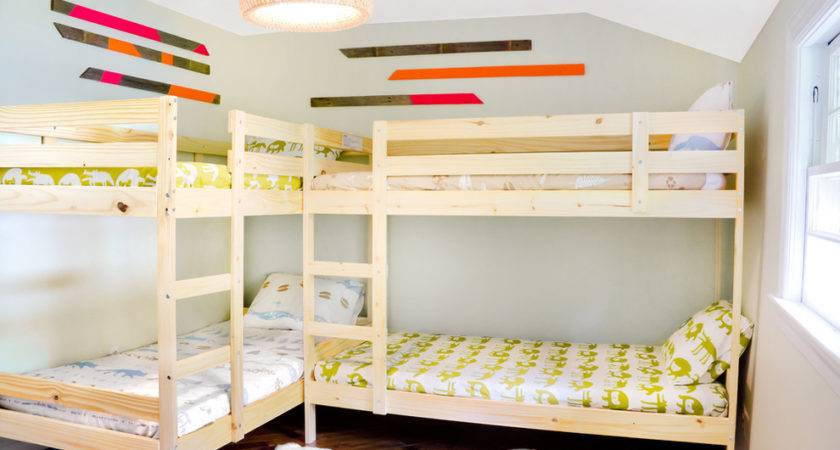 Incredible Build Bunk Bed Decorating Ideas