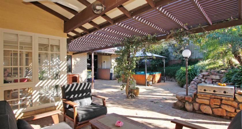 Indoor Outdoor Living Design Bbq Area Decorative