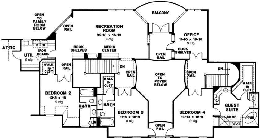Inside Biltmore Estate Floor Plan Print House Plans
