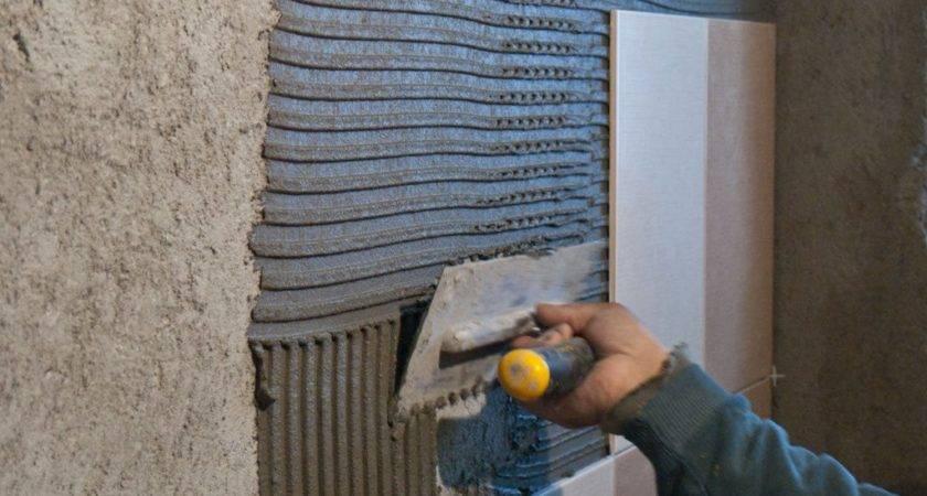 Install Wall Tile Bathroom Howtospecialist Build