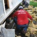 Insulation Under Mobile Home