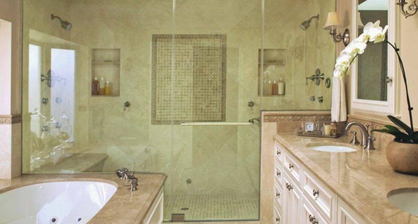 Jackie Dishner Luxury Showers Christopher Grubb Tub Glass Shower