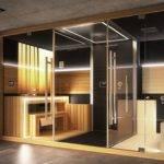 Jacuzzi Sasha Luxury Home Spa Combines Sauna Shower Hammam