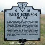 James Robinson House Marker History