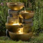 Jeco Pots Water Outdoor Fountain Led Light
