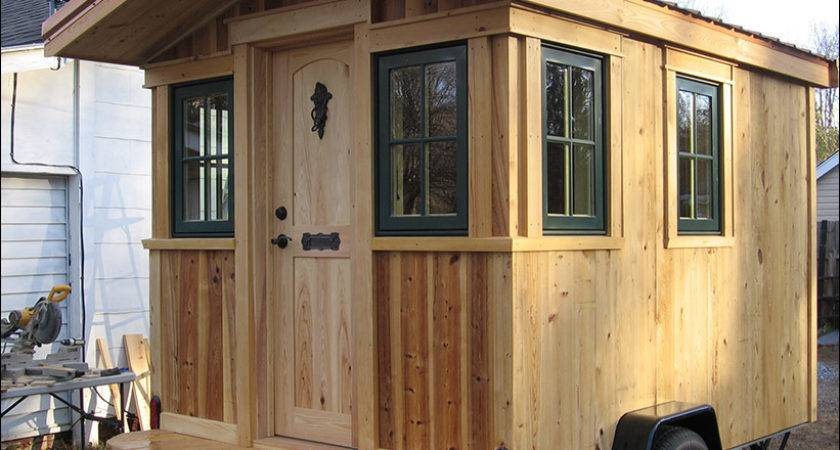 Just Finished Building Tiny House Trailer Western
