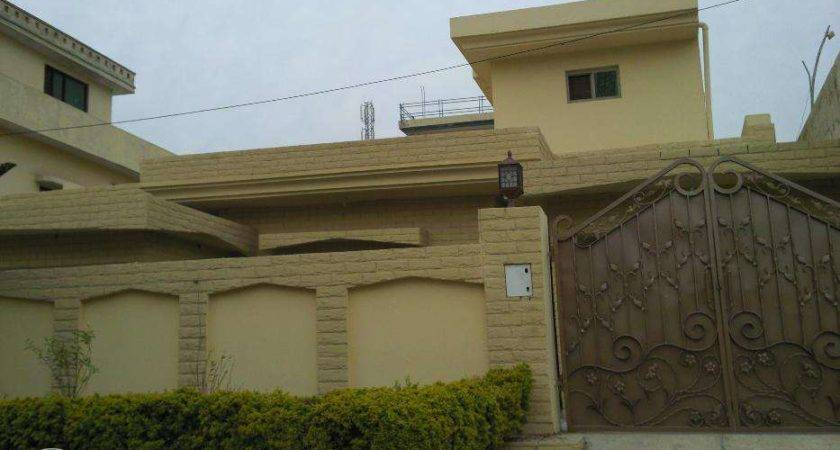 Kanal Bed Single Story House Rent Nat Police Found Isamabad