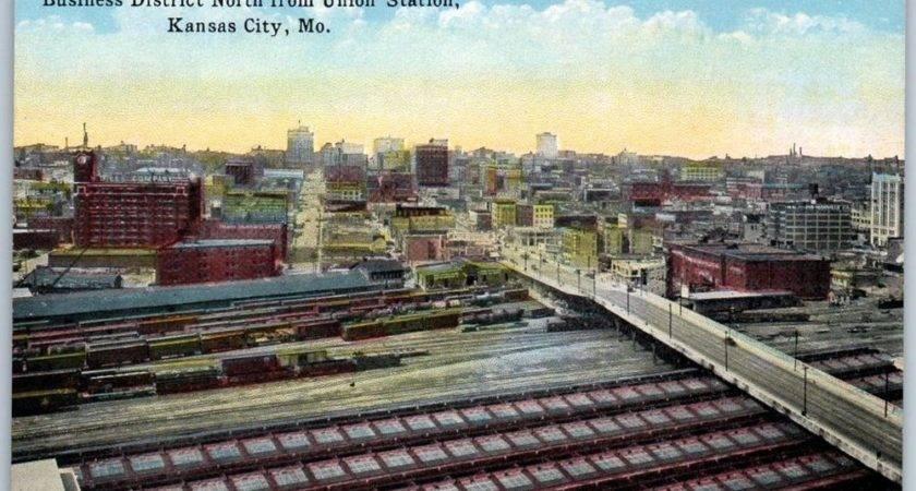 Kansas City Postcard Business District North Union Station