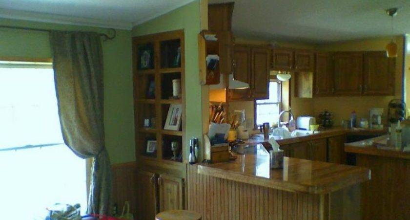 Kitchen Before Manufactured Home Remodels