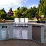 Kitchen Durable Prefabricated Outdoor Islands