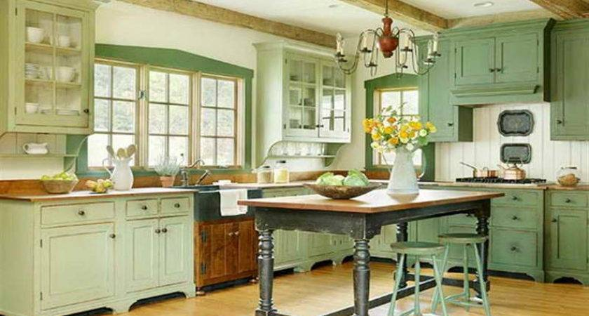 Kitchen Green Cabinets Design Ideas Lovely