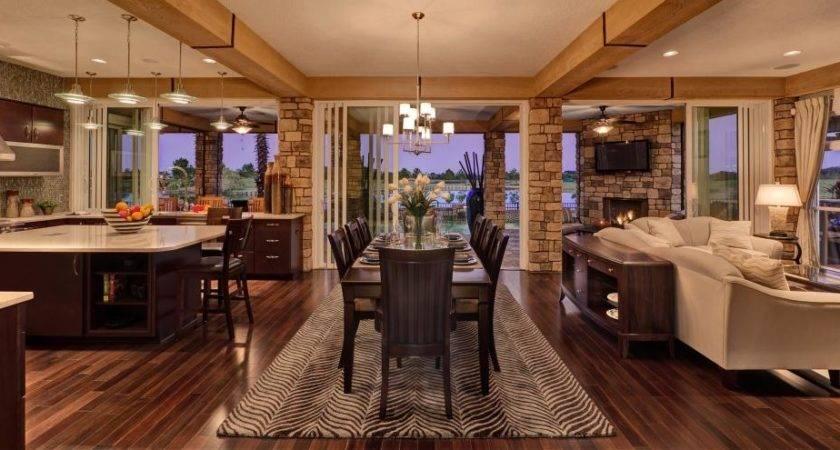 Kitchen Living Dining Area Gen House Builder Concept Home