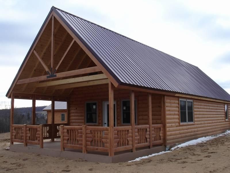 Knotty Pine Cottage Kits Modular Log Cabin Panel Concepts