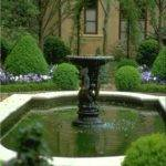 Landscape Fountain Design Ideas Side Yard