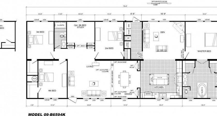 Large Modular Home Floor Plans Luxury