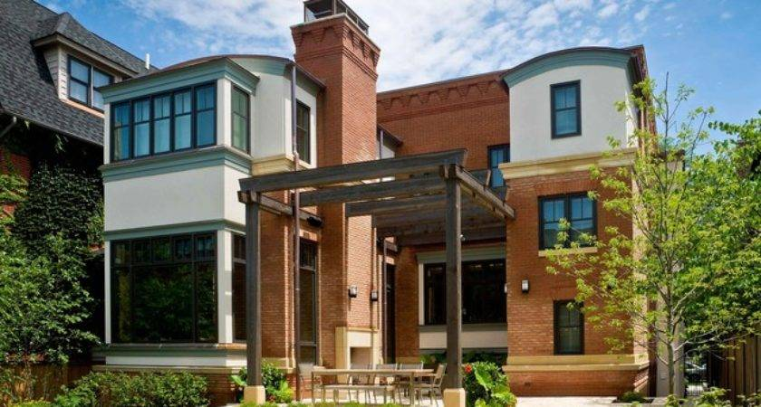 Leed Certified Home City Traditional Exterior