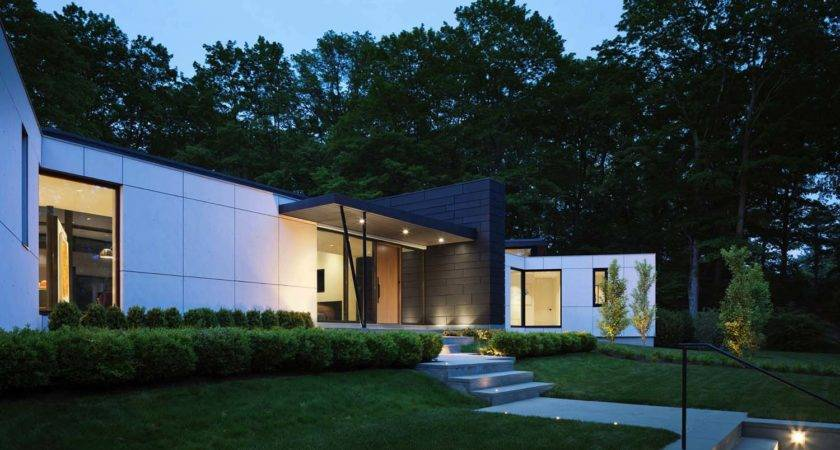 Leed Certified Home Features Brilliant Modern Details