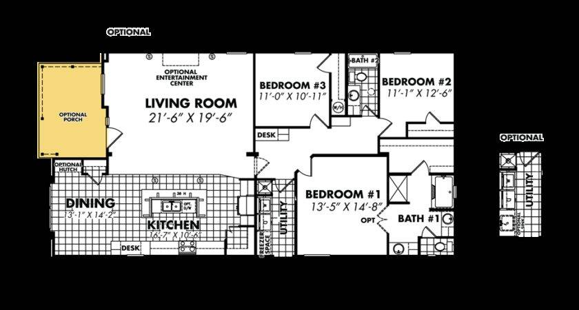 Legacy Housing Double Wides Floor Plans