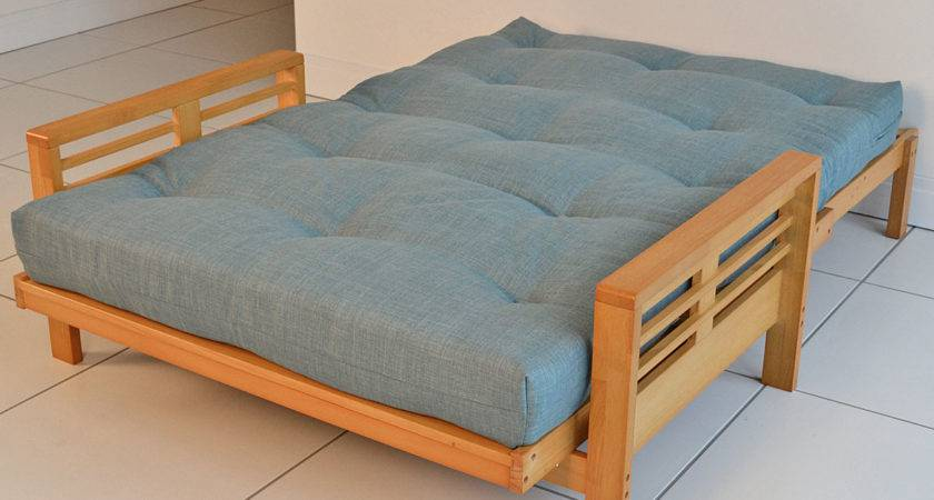 Levanto Futon Mattress Linoso Duck Egg