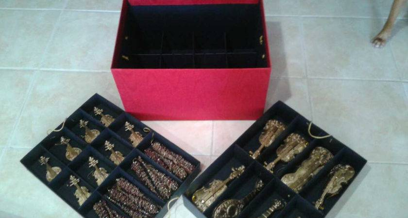 Level Adjustable Decoration Storage Box Decorations Included