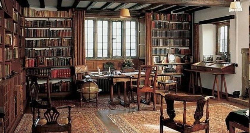 Libraries Famous Men Art Manliness