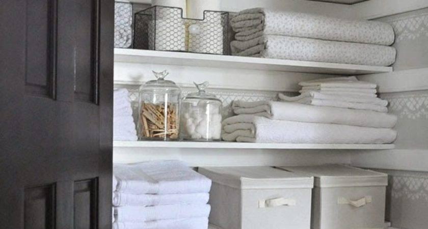 Linen Closet Storage Hacks Help Stay Organized
