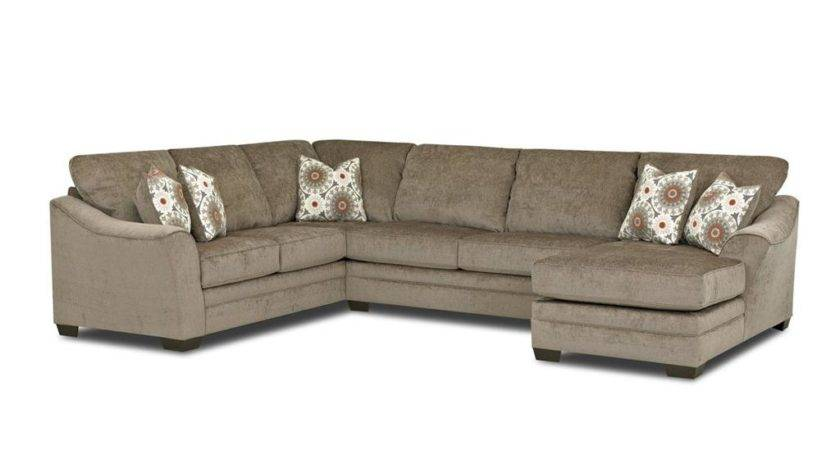 Living Room Heston Sectional Fab Sect Klaussner Home