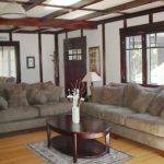Living Room Main House Provides Cosy Retreat Families