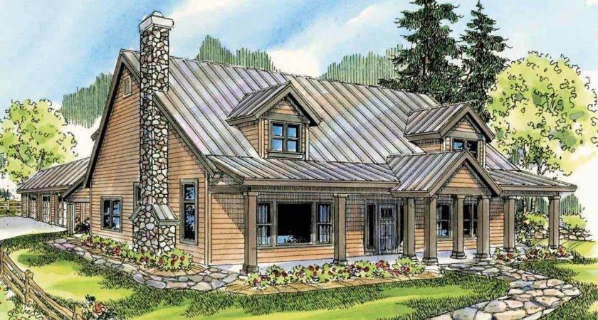 Lodge Style House Plans Elkton Associated Designs