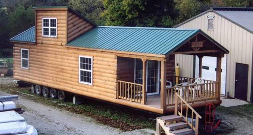 Log Cabin Mobile Homes Lofts Ideas