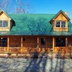 Log Home Exterior Double Wide Cabin Mobile