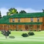 Log Home Modular Builders Homes