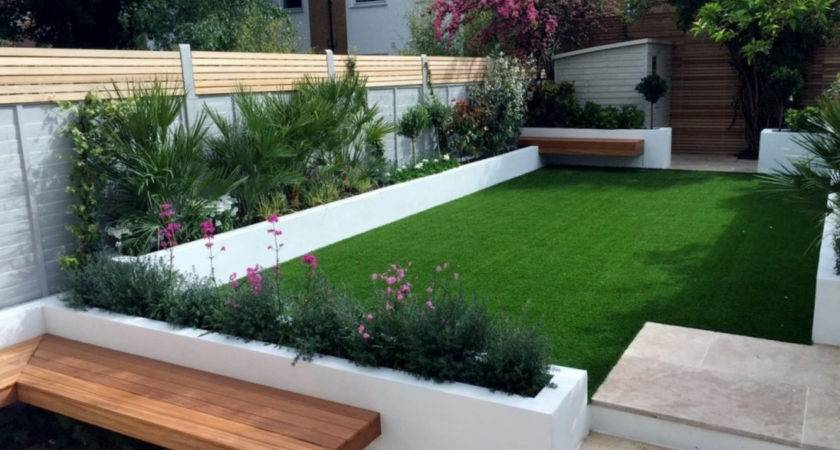 Low Maintenance Modern Minimalist Garden Design