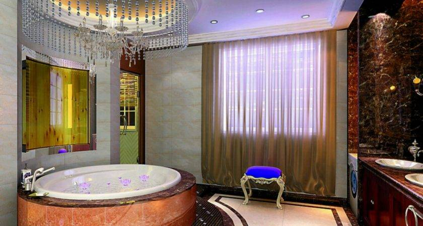 Luxury Bathrooms Decorations Tiles Paint Ceiling Flooring Designs