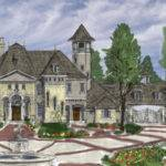 Luxury French Country House Plans Louis Manor