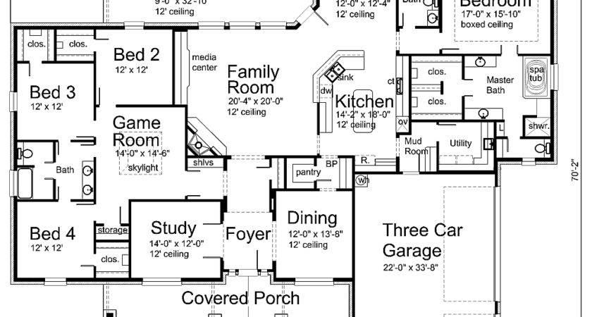 Luxury House Plan Texas Plans Over