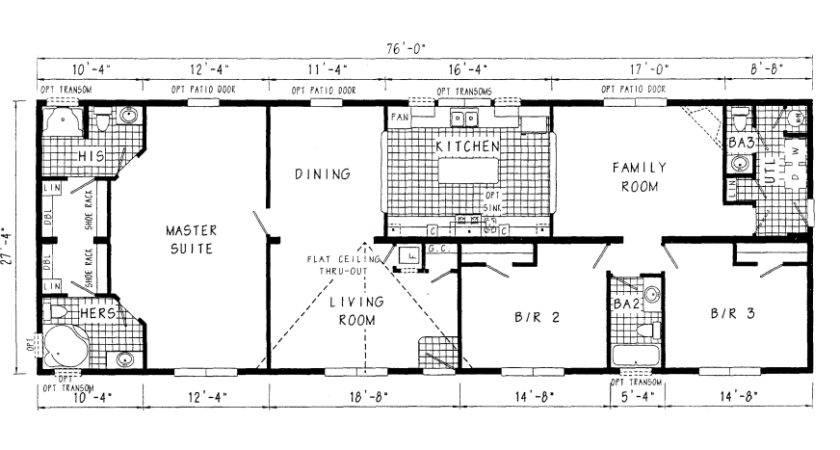 Luxury Modular Home Floor Plan Modern