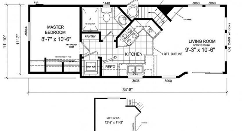 Luxury Single Wide Mobile Home Floor Plans
