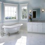Luxury White Master Bathroom Ideas