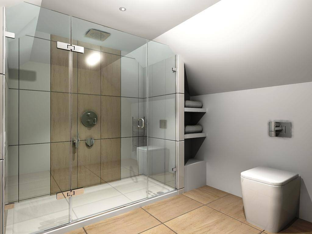 Make Your Bathroom Adorable Amazing Walk Shower