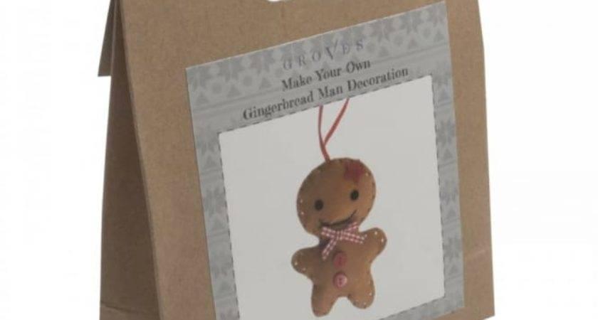 Make Your Own Felt Gingerbread Man Decoration Craftyarts
