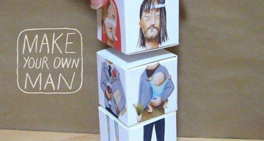 Make Your Own Man Cubes Creepbay
