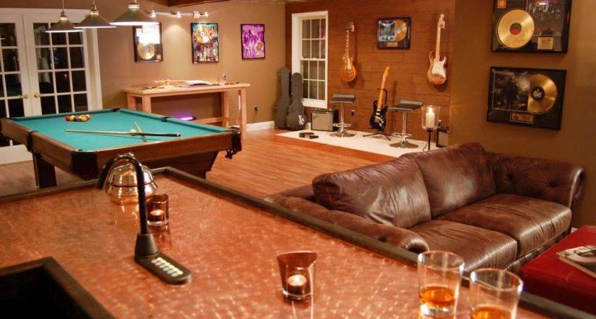 Man Caves Pool Tables Bars Diy