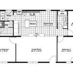 Manufactured Home Floor Plan Clayton Country Side