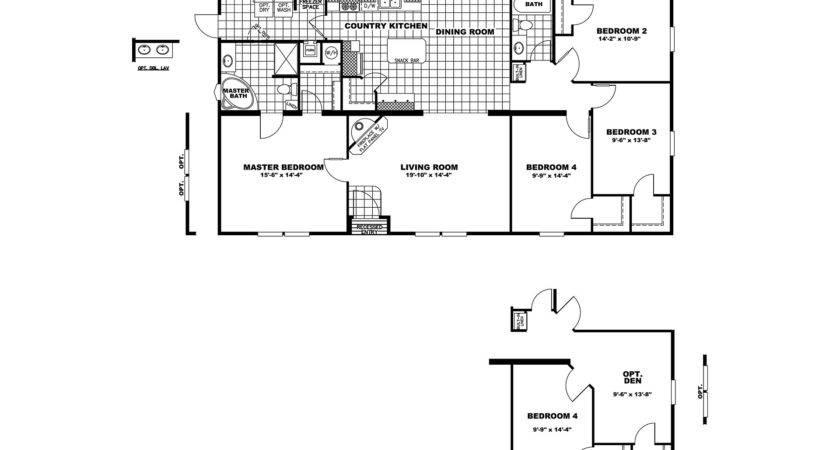 Manufactured Home Floor Plan Clayton Cowboy House Kelsey
