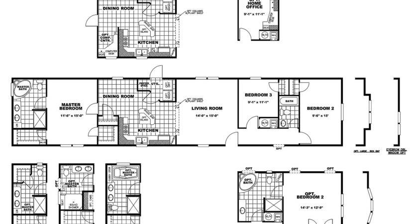 Manufactured Home Floor Plan Clayton Laredo