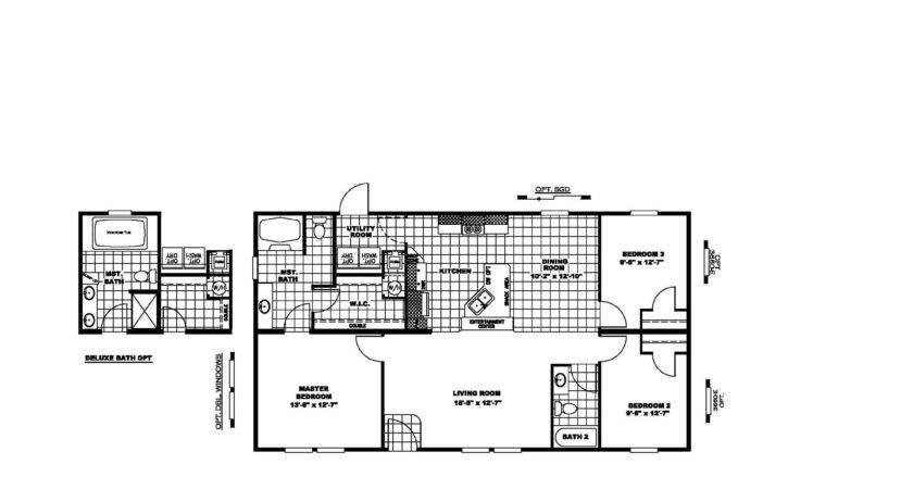 Manufactured Home Floor Plan Clayton Power Play Spl